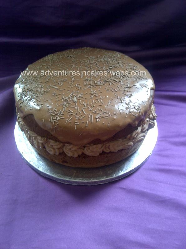 Chocolate Orange Cake (Gluten Free)