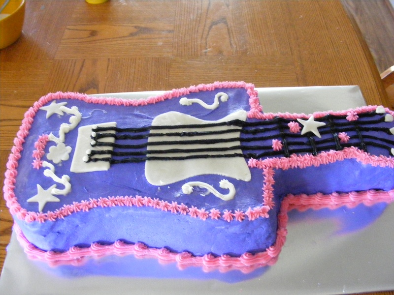 Guitar Cake Images With Name : guitar cake - Angel Pies