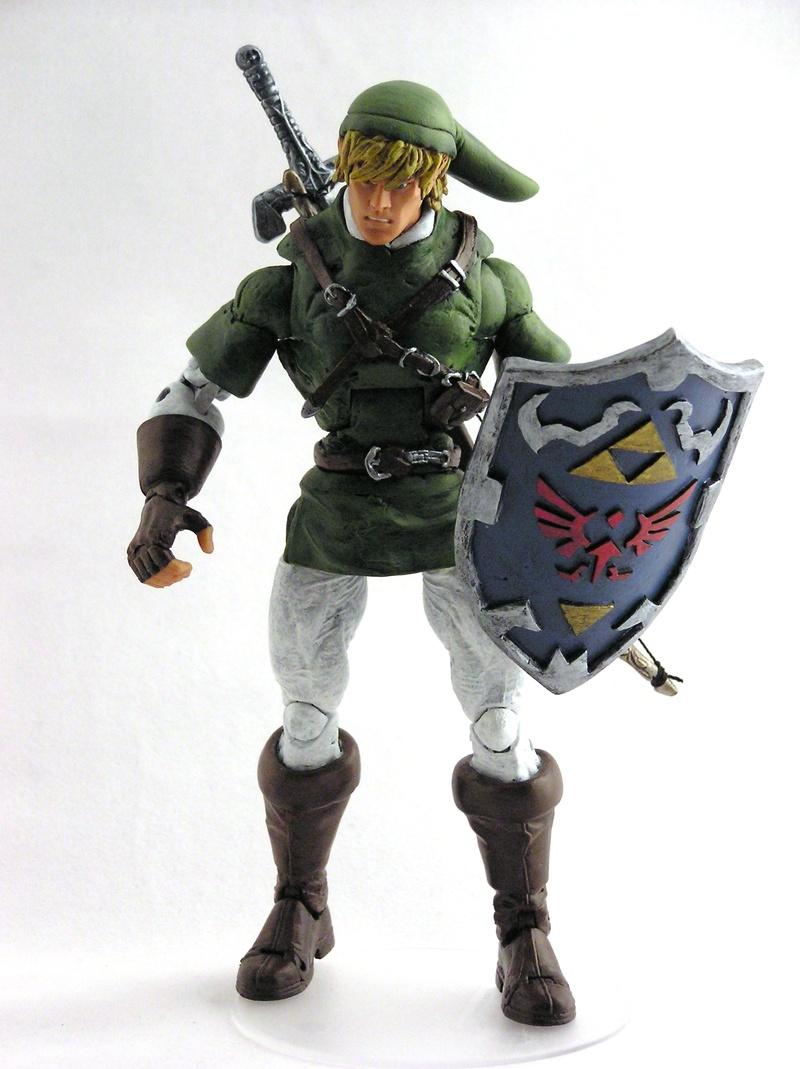 Zelda And Link Toys 65
