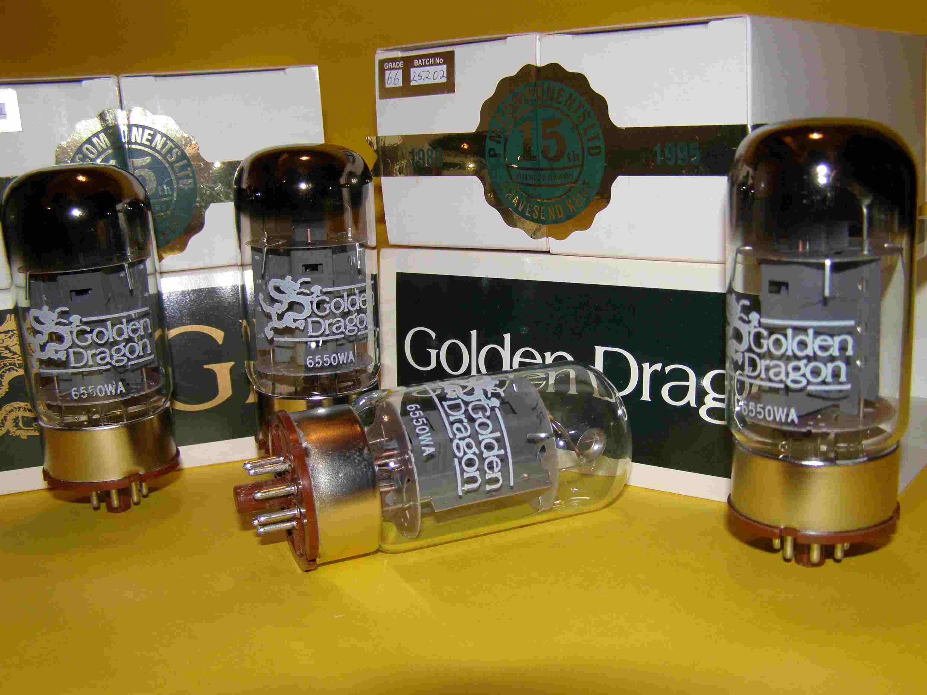 golden dragon 6l6wgb tubes
