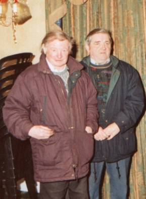 Founding members of Ardee Celtic Paddy Myles and John McGuirk. John (left) sadly passed away in January 2005. Paddy is now Club Chairman.