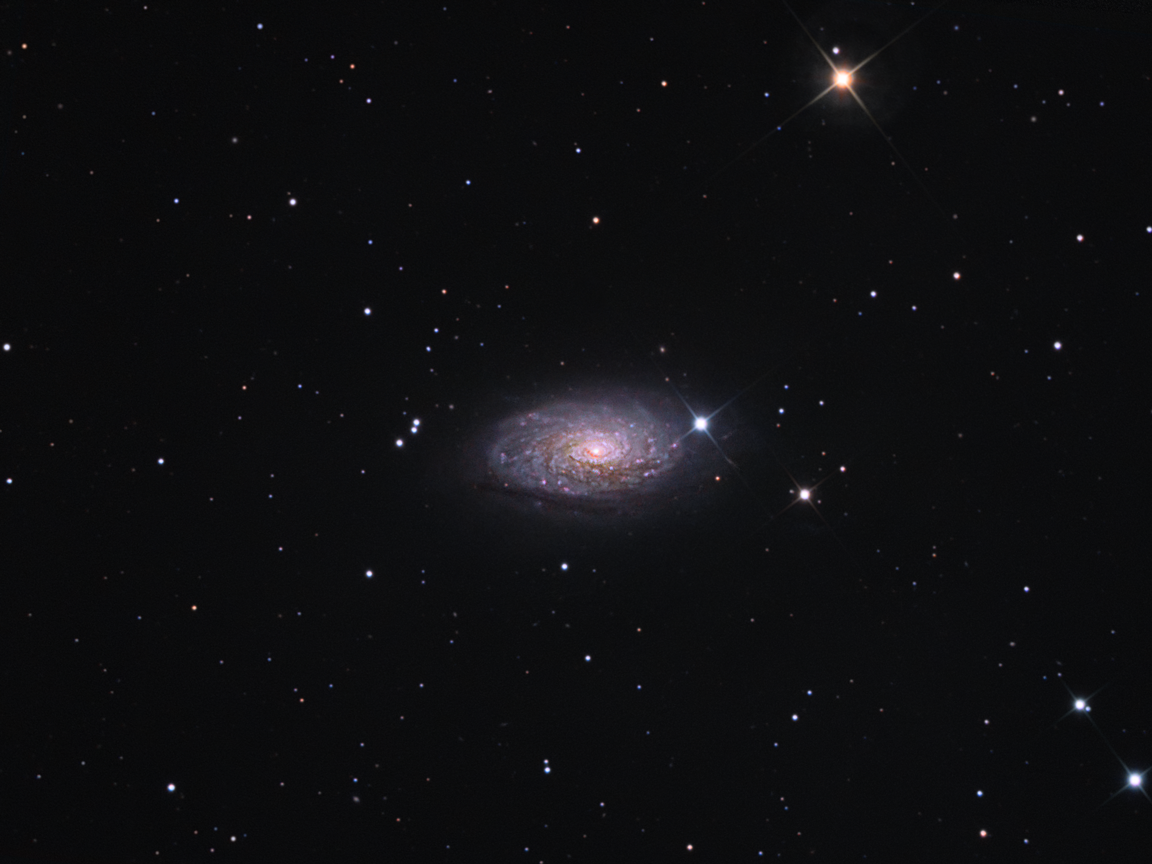 M63 - The sunflower Galaxy