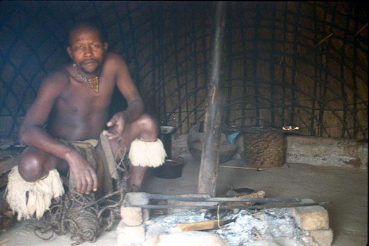 Inside my zulu hut