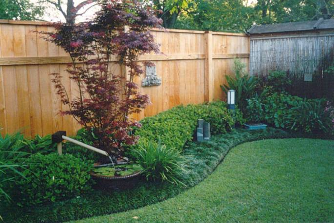 best landscaping images on pinterest backyard ideas - Garden Ideas Along Fence Line