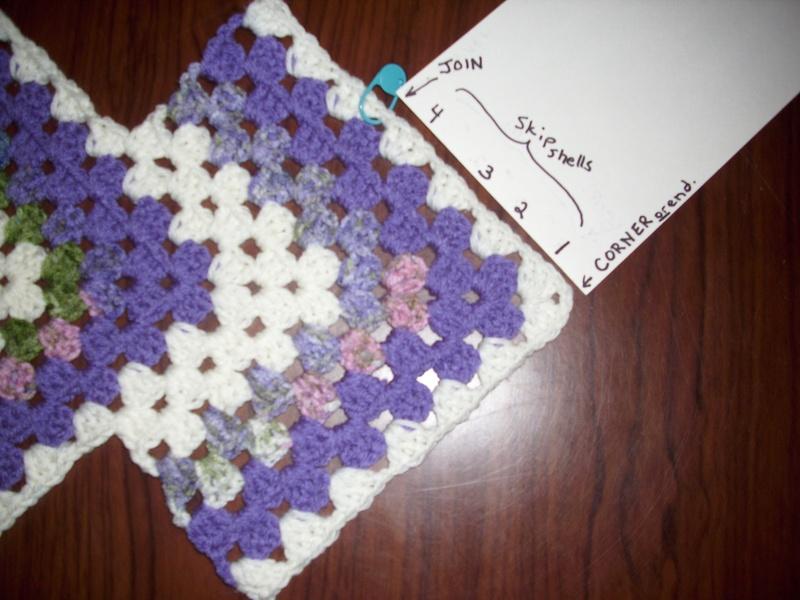 Begin Side Rows Crochet A Trunk Full O Fun