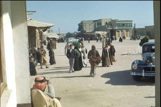safat square in 1948  at a time when there were neither corniche nor malls  safat square was