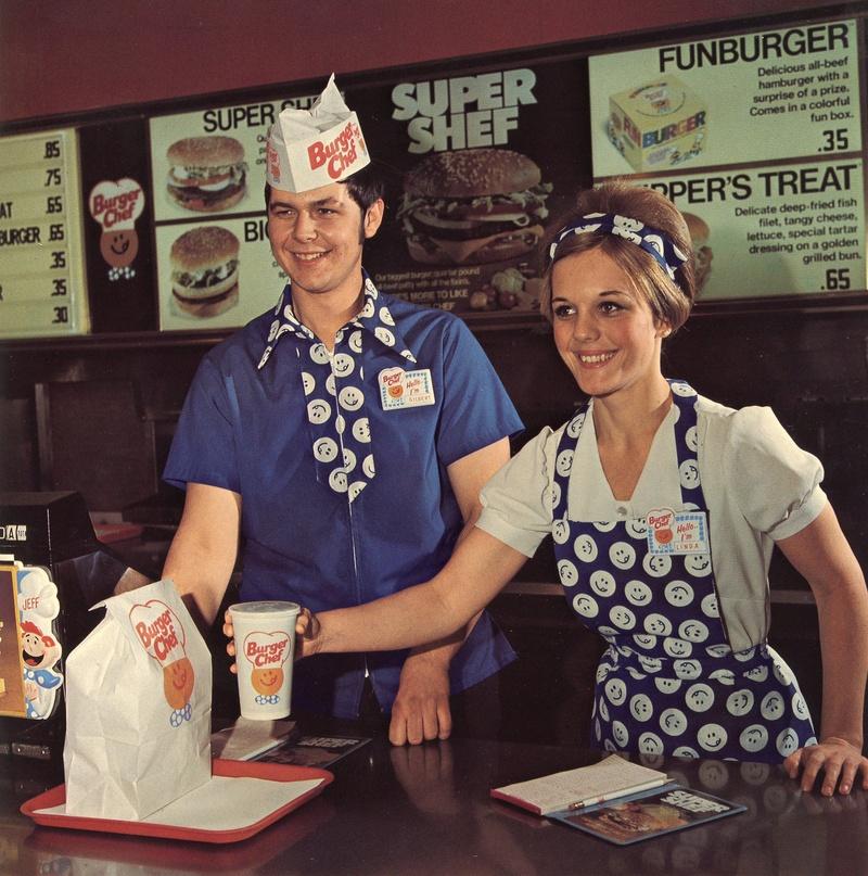 Home Burger Chef Memories
