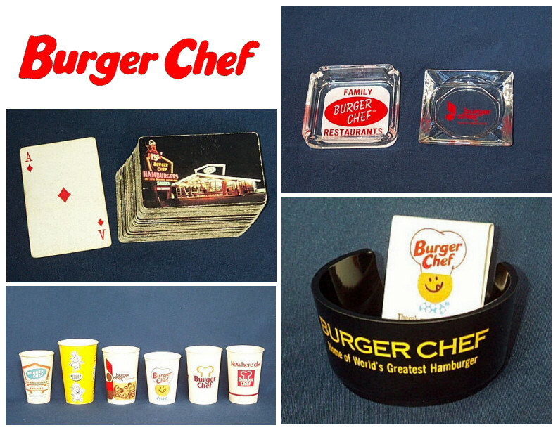 8 Memorbillia Pics Burger Chef Memories