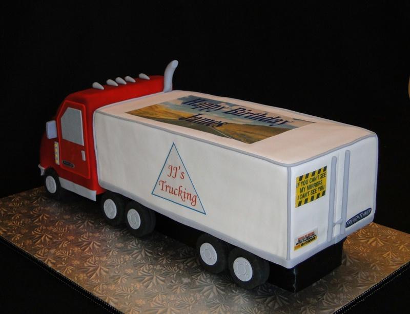 Cake Designs Truck : Cake Trucker Cake Ideas and Designs