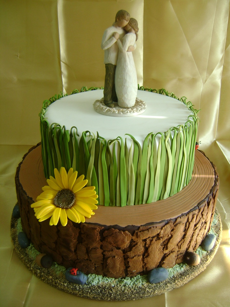 Cake Decorating Fondant Grass : Woodland Whimsy - Specialty Cakes and Desserts