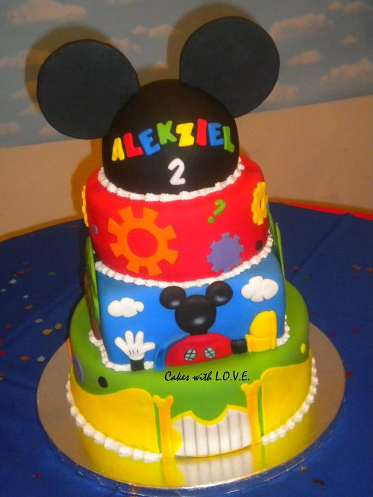 Mickey Mouse Clubhouse Cake Images : Mickey Mouse party stuff on Pinterest Mickey Mouse ...