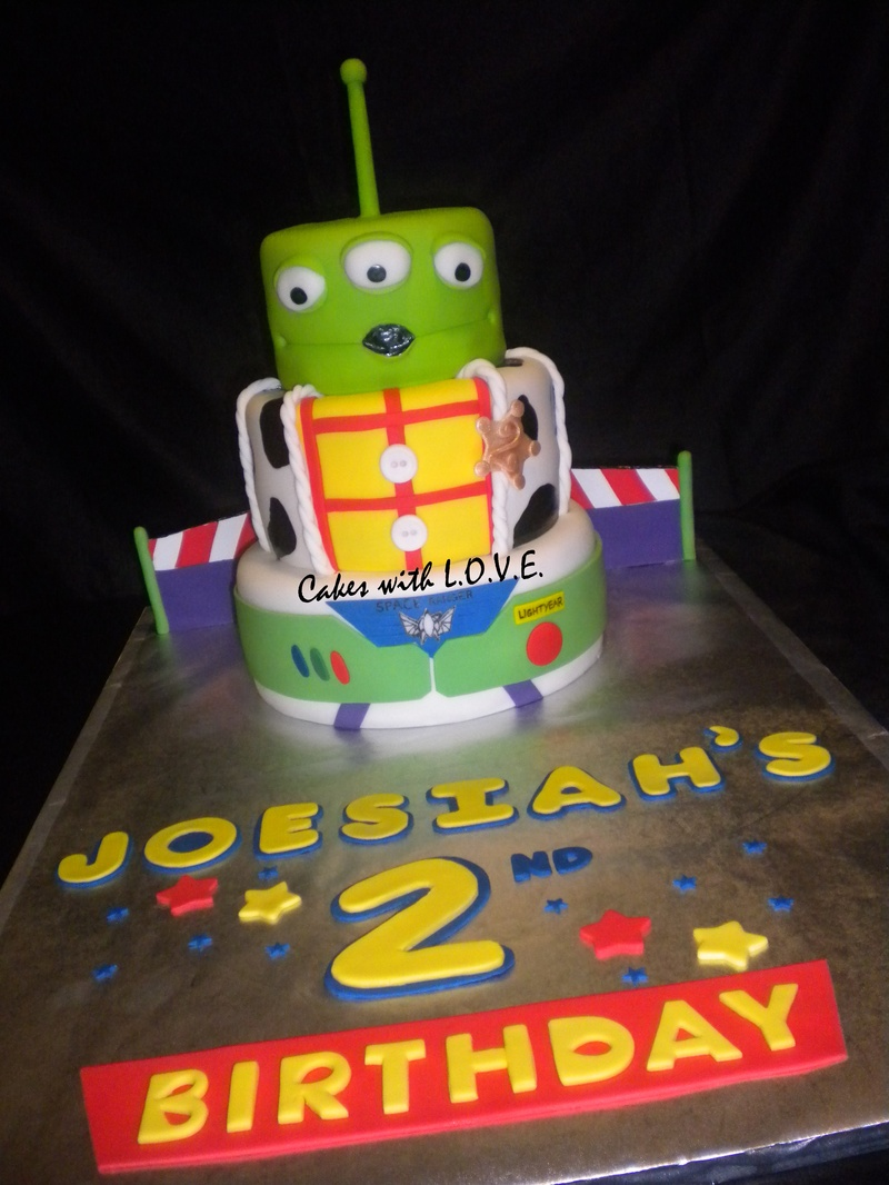 Toy Story Cakes For Boys : Toy story
