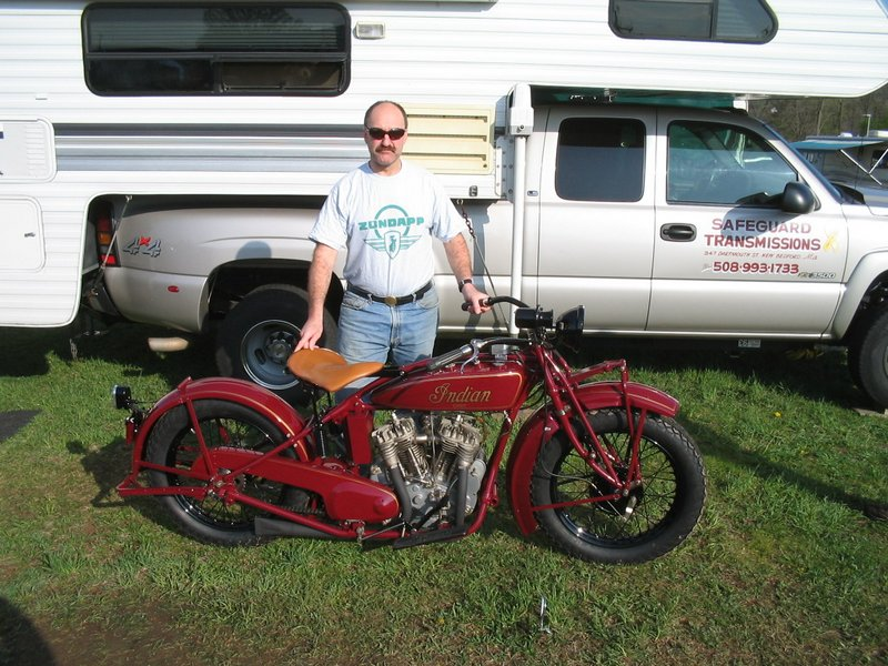 1927 Indian Big Chief pre war Indian Red.