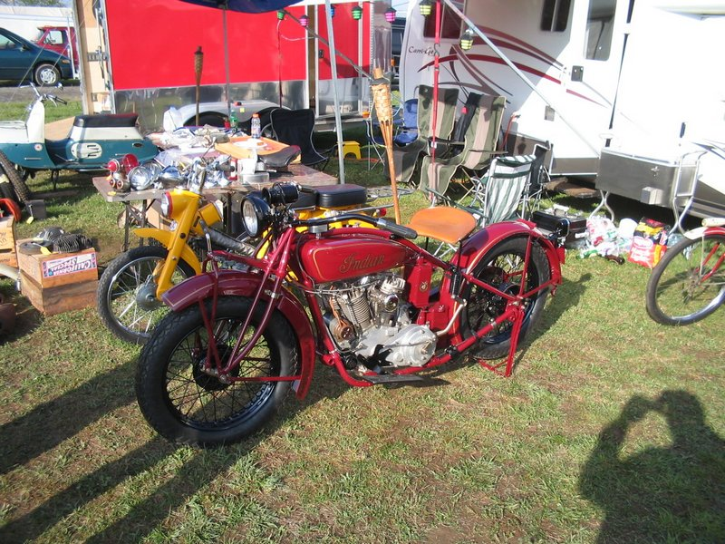 1927 Indian Chief in pre-war Indian Red