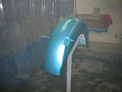 1959 Duo-Glide Hi-Fi Turquoise.