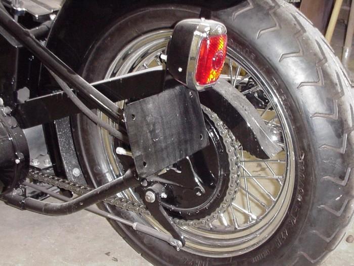 1948 U Harley-Davidson.