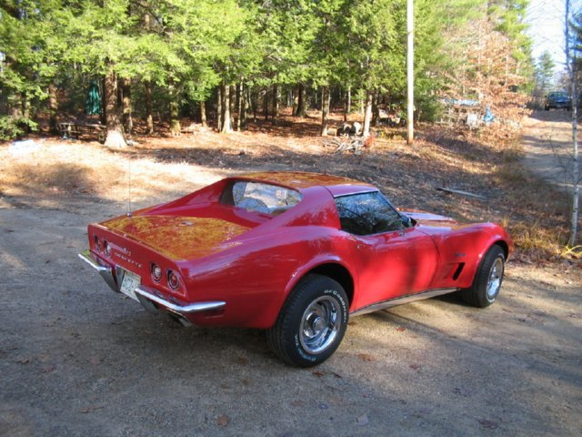 1973 Corvette frame off restoration.