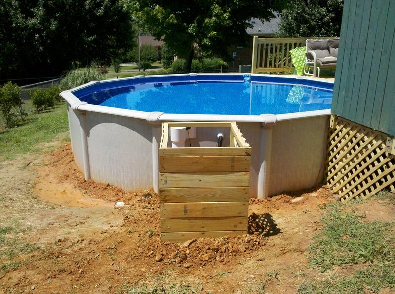 Deck Around Above Ground Pool