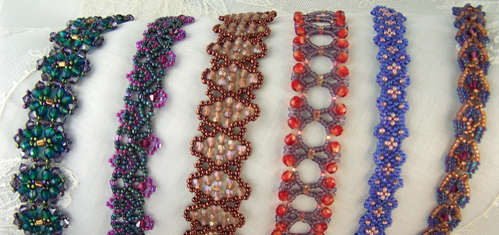 Bead Weaving Patterns by Sandra D Halpenny