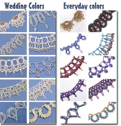 Wedding Lace Colors