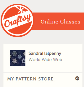 Selling at Craftsy too!