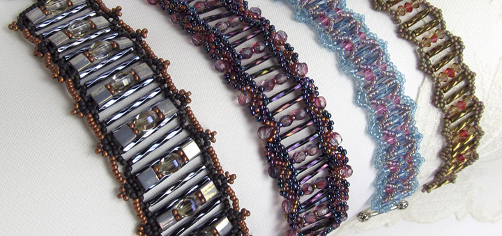 Sandra D Halpenny - Bead Weaving Patterns