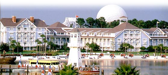 Adjacent To Disney S Yacht And Beach Club Resorts Villas Provide Lakeside Vacation Homes Decorated In A Late 19th Century Style
