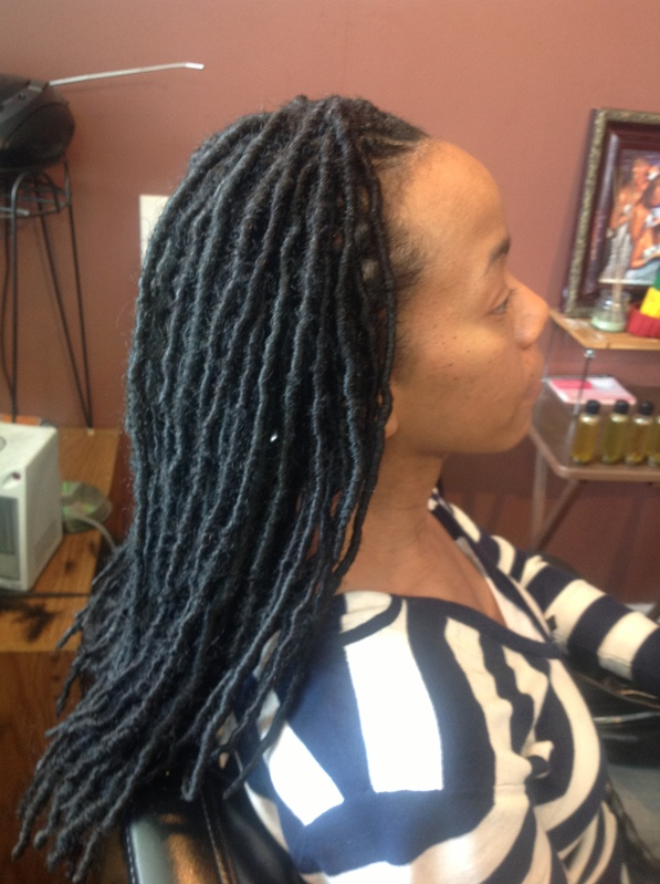 Synthetic Dreadlock Extensions Cost Triple Weft Hair Extensions