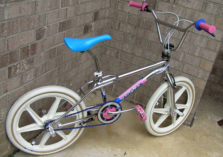 1980 S Gt Performer Freestyle Bike Riding Research