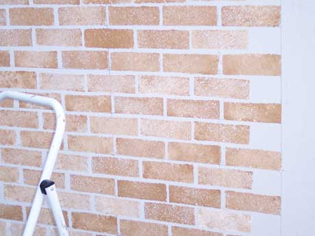 Faux Brick Paint