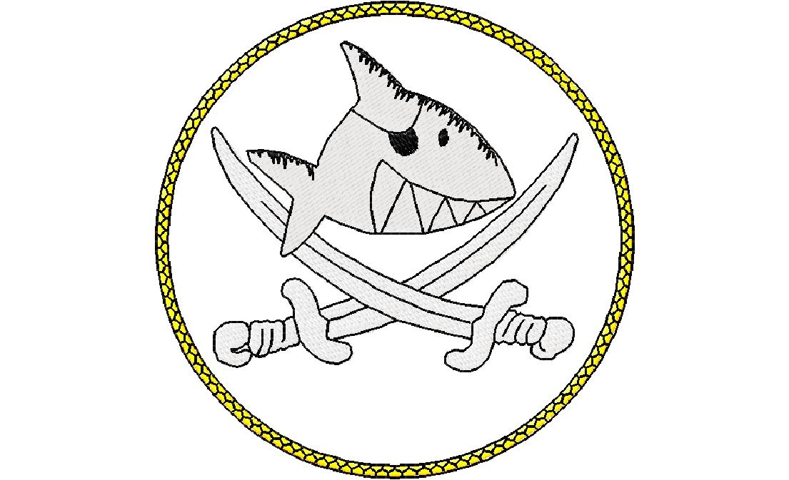 Käptn Sharky Malvorlagen und Ausmalbilder