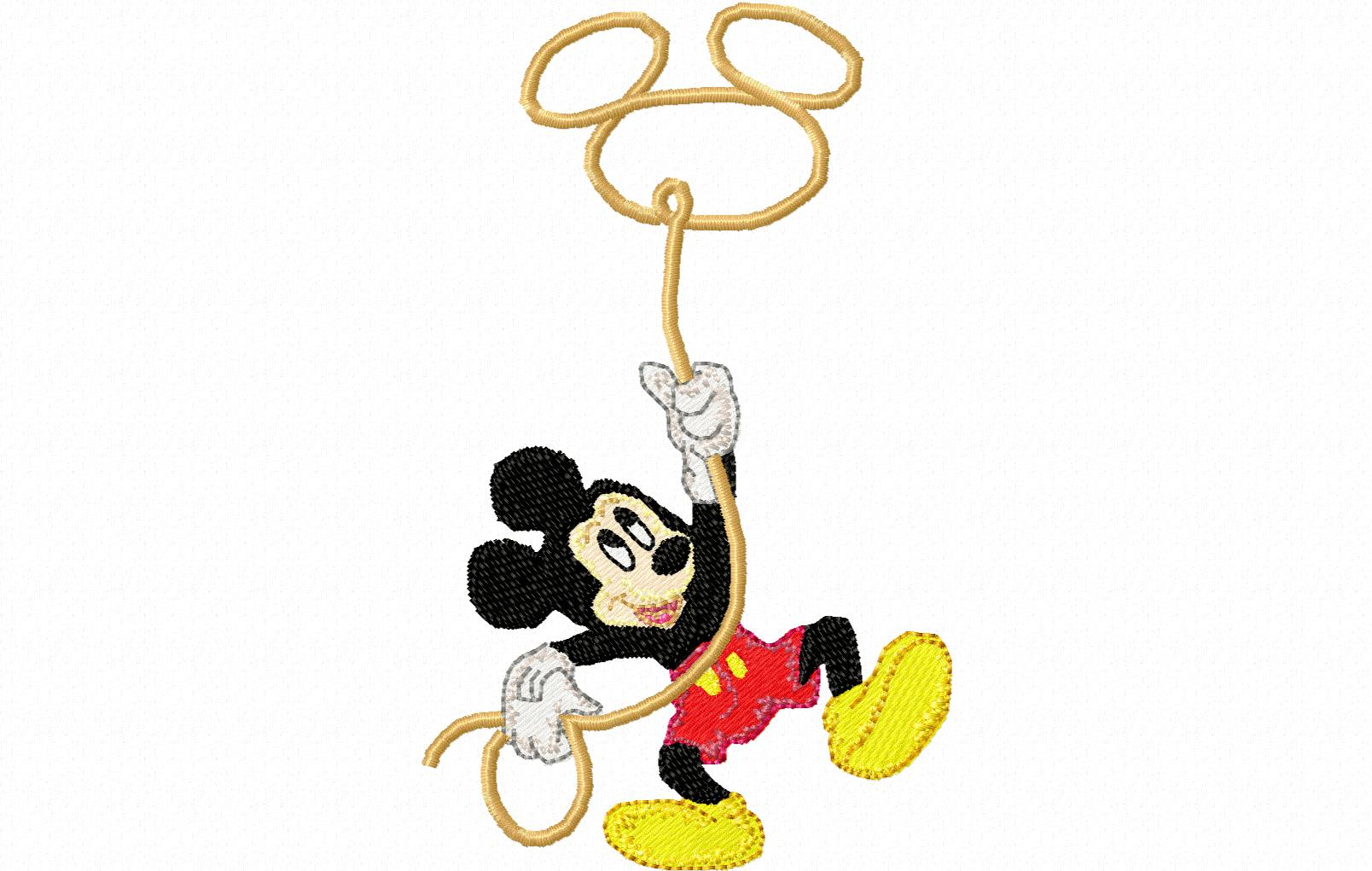 Disney Christmas Mickey and Friends Embroidery Designs: Design