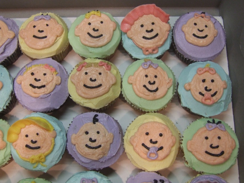 Baby Cupcake Faces Baby Cupcakes With Faces