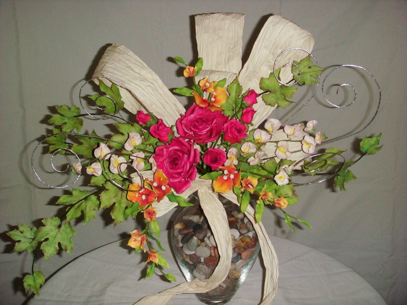 bouquet to be gifted to a very loving couple on their 50th Anniversary ...