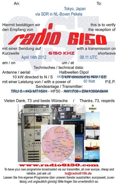 Radio 6150
