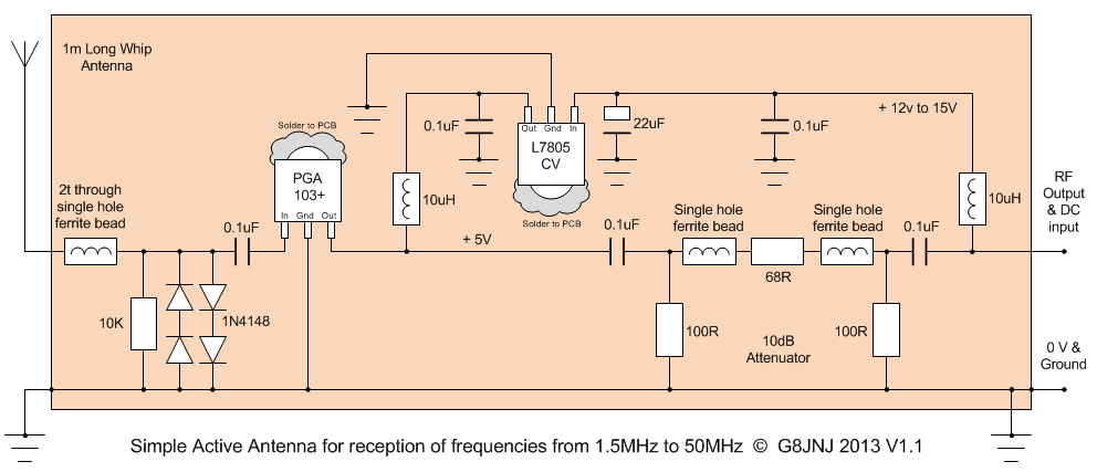 Popular EMP Jammer Slot Machine Jammer Blocker All Over The World additionally A Solid State Photodiode Gamma Radiation Detector also Analysis Of Class C Am Modulator likewise Electronic schematic in addition Pa0rdt Mini Whip. on rf amplifier circuit diagram