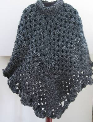 Free Pattern To Crochet A Poncho : SWEATER PONCHO CROCHET PATTERN ? Free Crochet Patterns