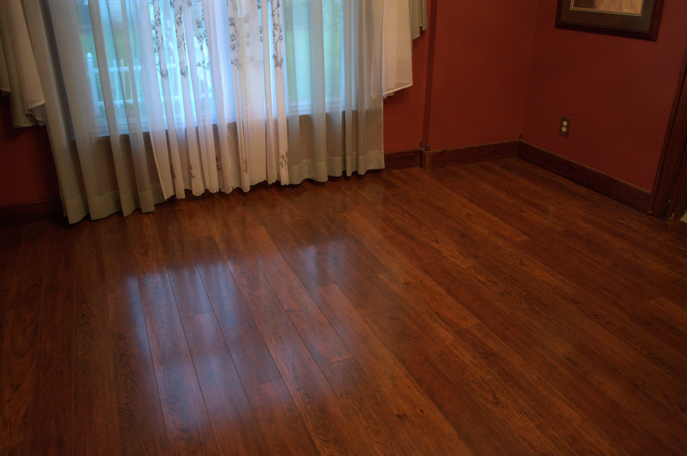 Finished swiftlock floor on top of old floor - Wood floor colors ...