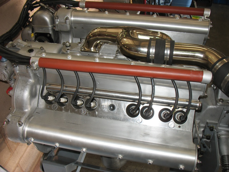 Side View Two Plugs Per Cylinder Indy Roadster Builders