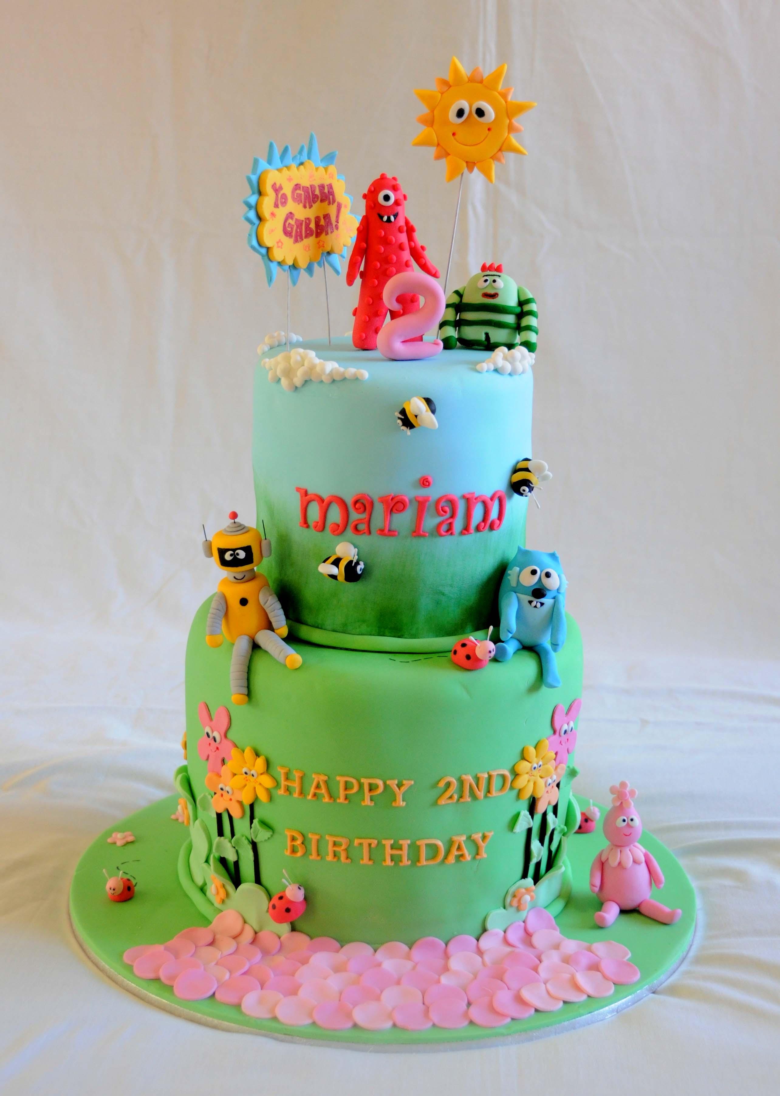 Yo Gabba Gabba cake - Its A Cake Thing