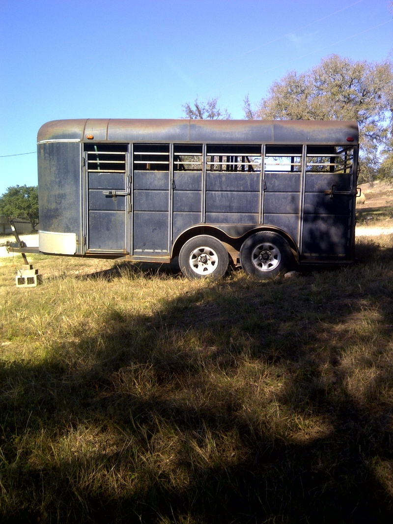 ... lights work, 3 tires are good, one has a lot of wear and needs  replaced. Was made in 2000, no title, sells with bill of sale. Good solid  trailer. $2750.