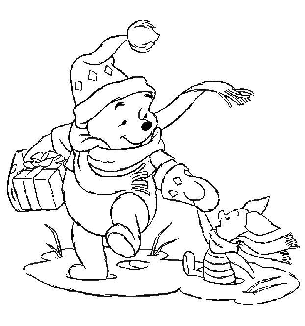 Kleurplaten Disney Winnie The Pooh.News And Entertainment Kleurplaten Kerstmis Jan 05 2013 22 38 06