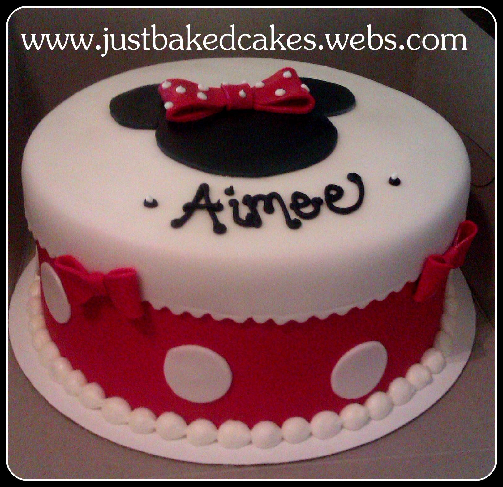 Minnie Mouse Birthday Cakes Walmart Pin At Cake On Pinterest