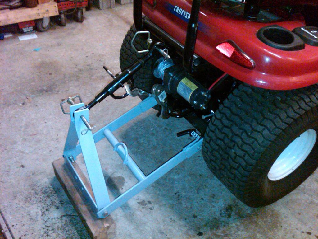 Garden Tractor 3pt Hitch : John deere engineering design free engine image for