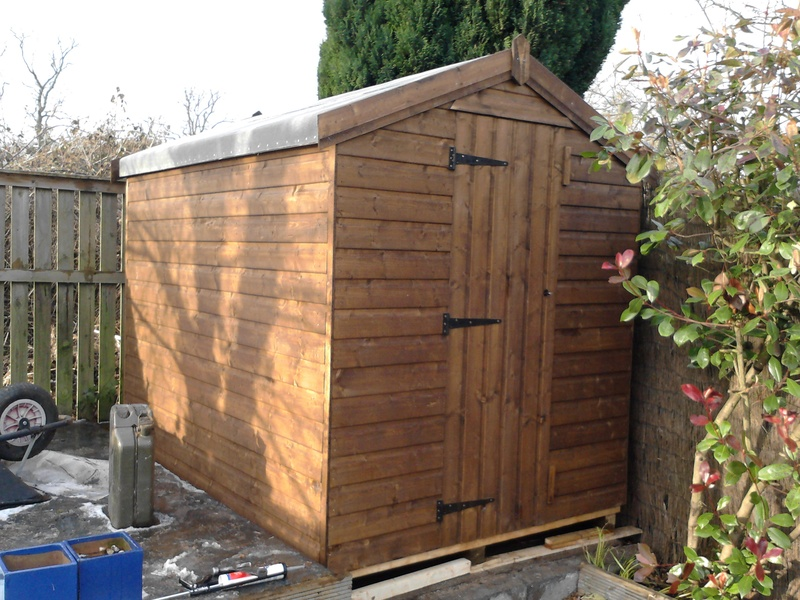 Posted on feb 13 2013 for Garden shed edinburgh sale