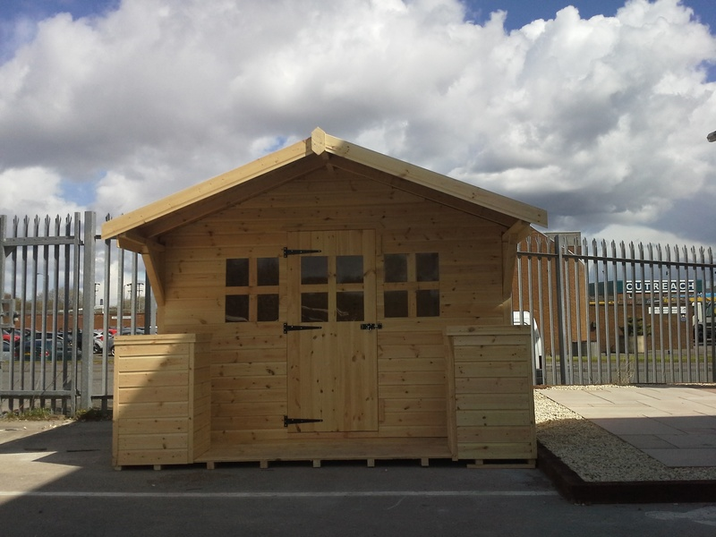 Summer house 10 39 x 10 39 max timber sheds for Garden shed edinburgh sale