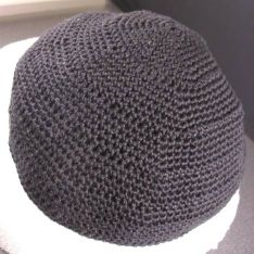 Ravelry: Crocheted Passover Yarmulke pattern by Purl Soho