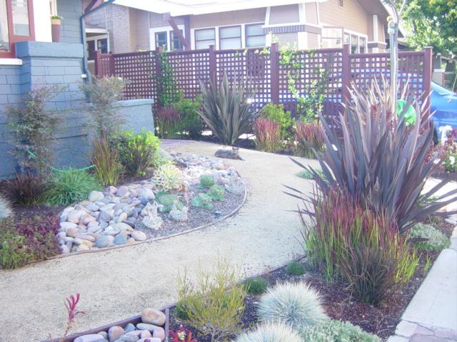 Mediterranean low water garden mk landscape design