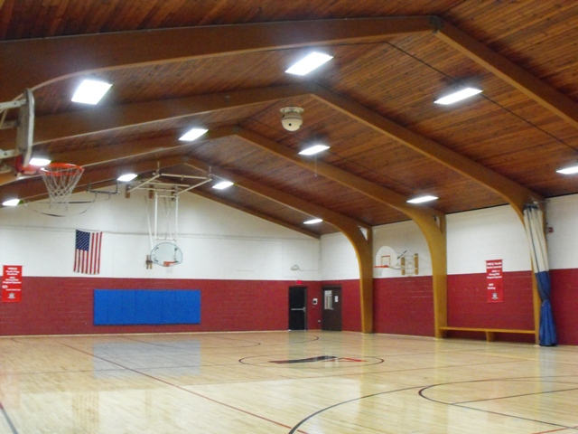 Ymca gymnasium for The motor company marinette