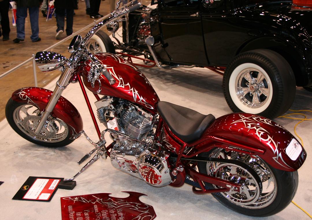 Custom Chopper Red Paint Schemes